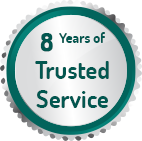 7 Years of Trusted Service